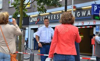 8 augustus Drie verdachten aangehouden bij bedreiging politieman in burger