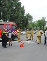 2 juni Motorrijder lichtgewond na ongeval Westlandseweg Delft
