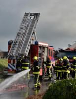3 februari Grote brand verwoest loods Zijtwende De Lier