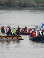 16 oktober 2 personen vermist na aanvaring Ridderkerk