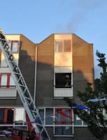 6 juni Uitslaande woningbrand Oranjegracht Leiden