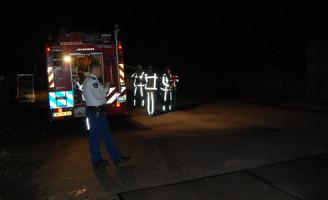 26 oktober Onderzoek brandgerucht blijkt containerbrand na inbraak