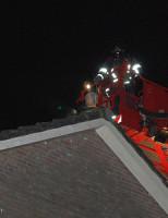 30 oktober Openhaard veroorzaakt Schoorsteenbrand Baarsweg Hoogvliet