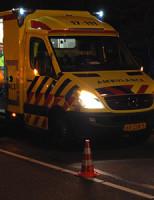 30 oktober Gewonde na kop-staart botsing Aveling Hoogvliet