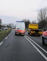 1 januari Drie gewonde bij frontale aanrijding Tjalmaweg Katwijk