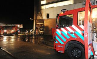 6 januari Grote brand in brandweerkazerne Kagereiland