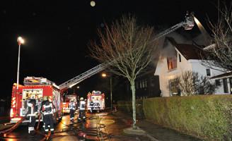 23 januari Grote brand in woning Berkhoutlaan Lisse