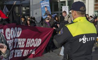 28 december Aanhoudingen na demonstratie tegen politiegeweld Den Haag