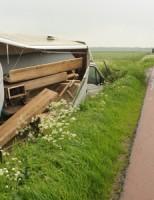 24 mei eenzijdig ongeval Leimuiden