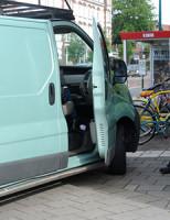 13 juni Aanrijding bestelbus versus fietser