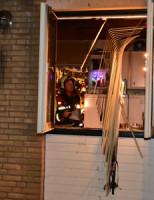 30 december Persoon gewond na woningbrand Ida Heijermanspad Leiden
