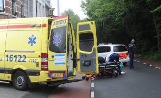 3 juli Aanrijding fietser versus brommer Leiden