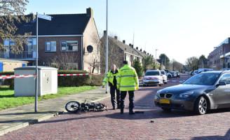 28 januari Automobilist schept brommerrijdster Splinterlaan Leiderdorp