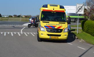 18 april Scooterrijder lichtgewond na aanrijding met auto Noordlandseweg 's-Gravenzande