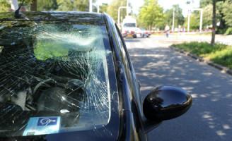 14 augustus Aanrijding auto versus fietsers