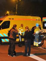 24 april Voetganger gewond na aanrijding Haagsche Schouwweg Leiden
