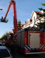28 september Middelbrand in woning Fahrenheitstraat