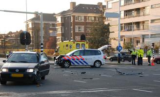 21 november Aanrijding met politievoertuig Willem Witsenplein Den Haag