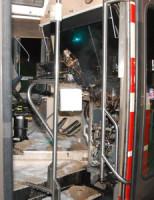 23 november Brand in tram lijn 1 Zwarte Pad Den Haag