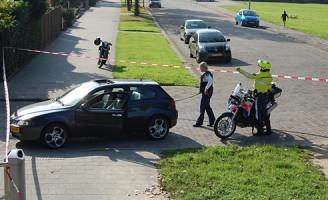 27 september Politie schiet autodief in zijn billen Hoogvliet