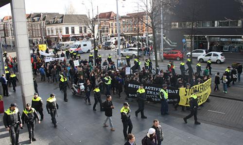 Demonstratie tegen de NSS 2014 Den Haag (174)
