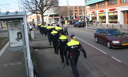 Demonstratie tegen de NSS 2014 Den Haag (85)