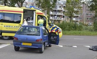 Fietser gewond na aanrijding Engelendaal