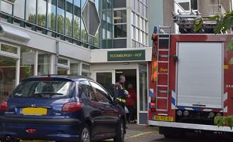 Kleine brand in aanleunwoning Roomburgh-Hof