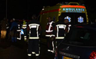 EOD onderzoekt auto na brand in Leiderdorp