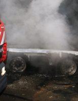 8 november Aanhangwagen op bouwterrein in brand Kasteelweg Schiedam