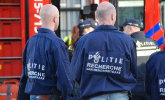 21 april Grote brand in gebouw van ambassade van Verenigd Koninkrijk en aanhouding in Den Haag [UPDATE]