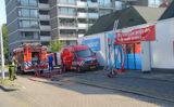 31 augustus Zeer grote brand bij vestiging Hoogvliet supermarkt Klaverweide Voorburg