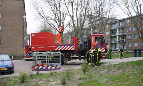 Grote Kraan Ass Ambulance Isabellaland Den Haag (2)