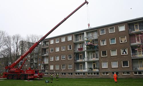 Grote Kraan Ass Ambulance Isabellaland Den Haag (22)