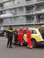 2 maart Hulpdiensten groots ingezet voor medisch incident in woning Bachsingel Delft