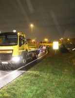 26 oktober Dronken automobilist vliegt uit de bocht A4 Den Hoorn