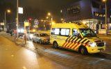 14 december Flinke schade bij ongeval op Brasserskade Den Haag
