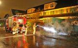 22 oktober Motor gaat in vlammen op in voortuin van woning Berkebroeklaan Den Haag