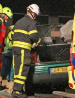 10 februari Hulpdiensten massaal ter plaatse bij flink ongeval A13 Delft