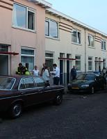 23 augustus Brand ontstaan door oven Sint Aldegondestraat Delft