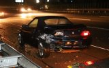 7 oktober Flinke schade na kop-staart A13 Delft