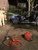18 maart Auto brandt uit in Pijnacker, oorzaak onduidelijk