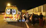14 juli Meerdere voertuigen beschadigd bij aanrijding A13 Delft