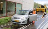 22 oktober  Bestuurder ziet busbaan over hoofd en raakt gewond Busbaan Tanthof Delft [VIDEO]
