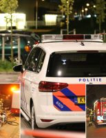 25 april Uitgebrande auto's in Delft mogelijk gebruikt bij liquidatie Sylvain Poonsstraat Den Haag