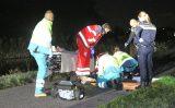 2 november Voorbijgangers treffen bewusteloze man aan op fietspad Molenwetering Den Haag [VIDEO]