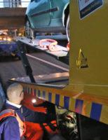 9 maart Twee gewonden bij aanrijding tussen drie voertuigen A4 Rijswijk