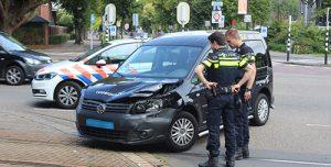 31 augustus Tramverkeer gestremd door aanrijding met taxibus Burgemeester Elsenlaan Rijswijk