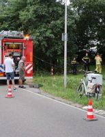 16 juli Onbekenden steken pallets in brand Zoutveenseweg Schipluiden [VIDEO]