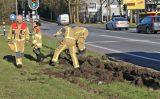19 maart Brandweerwagen op kantelen na uitwijkmanoeuvre Kruithuisweg/N470 Delft